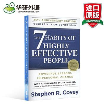 Buku Self Help The 7 Habits Of Highly Effective Peoplestephen Covey 英文原版the 7 habits of highly高效能人士的七个习惯 英文版 摘要 书评 试读 京东图书