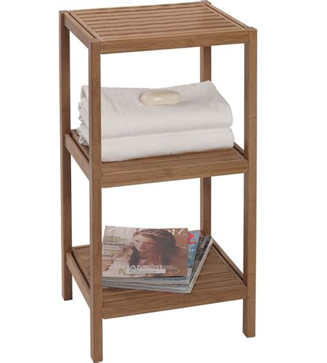 Shelving Unit For Bathroom Bamboo Shelving Unit In Bathroom Shelves