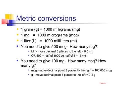 how many grams are in a milligram