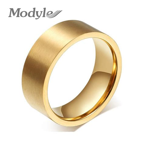 fashion wedding rings for and stainless steel