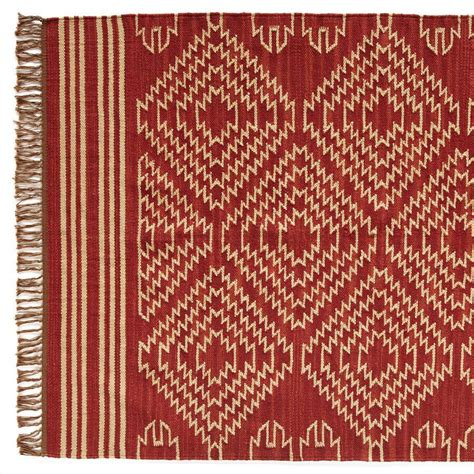 Dhurrie Rugs Definition by Tribal Graphic Dhurrie Rug Sm Robert Redford S