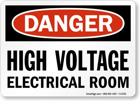 Electrical Room Signs Mysafetysign Com Room Signs