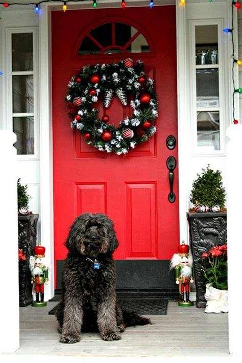 Front Porch Privacy Ideas by Outdoor Christmas Decoration Ideas 30 Simple Displays