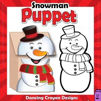 printable christmas paper bag puppets 1000 images about printable puppets on pinterest