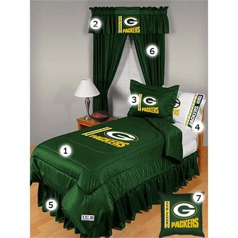 green bay packers bedroom green bay packers fanatic decor sports decor