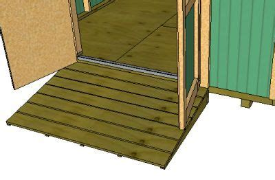 build  shed ramp add shelves