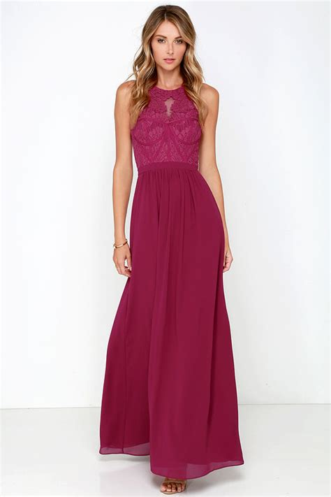 chagne colored prom dresses berry pink gown maxi dress bridesmaid dress prom