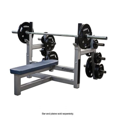 bench press replacement pro series olympic flat bench legend fitness