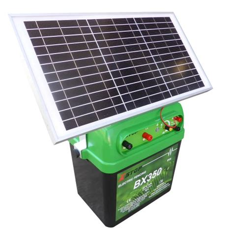best solar electric fence charger alternative energy 40km 2 5j solar power electric fence