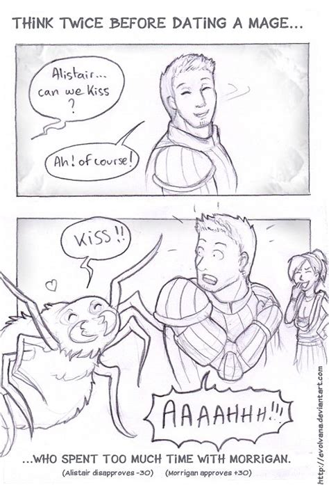 Dragon Age Kink Meme - alistair dating the mage warden by evolvana on deviantart