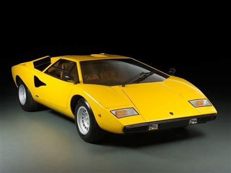 yellow lamborghini countach previously sold tom hartley jnr