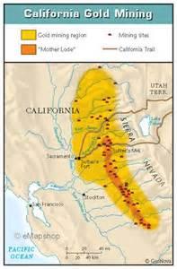 gold map california california gold map search time spun