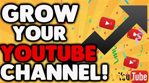 how to your fast how to grow your channel fast 2017 tips on gaining subs views 2017