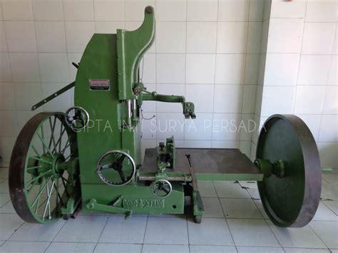 Mesin Asah Gergaji mesin bandsaw 42 inchi bekas cipta inti surya persada