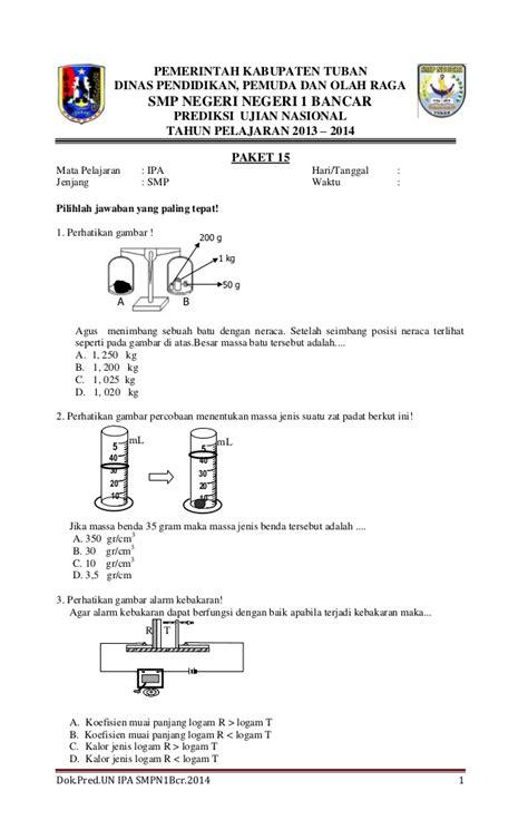 naskah soal un bahasa inggris smp 2013 paket 1 soal ujian nasional un naskah soal prediksi ujian nasional