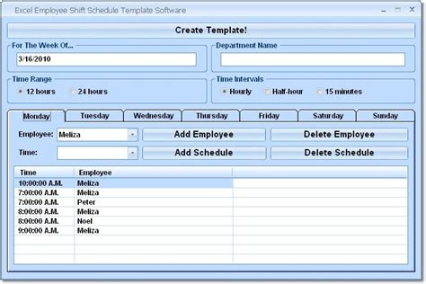 employee shift schedule template employee schedule excel search results calendar 2015