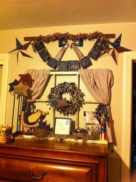 americana country home decor 42 best images about americana decor on pinterest july