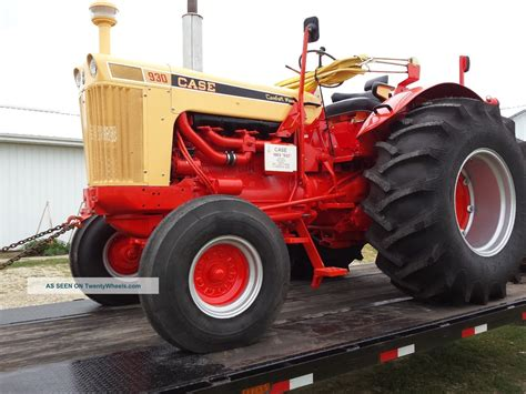 case 930 comfort king case 930 standard comfort king tractor
