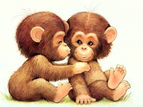 funny monkey pictures cartoon monkey pictures desktop background