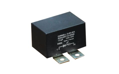 cde snubber capacitors capacitor solutions for every application cde