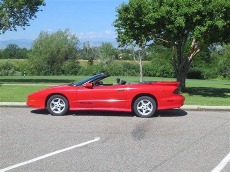 how to sell used cars 1996 pontiac trans sport navigation system sell used 1996 pontiac trans am convertible in englewood colorado united states