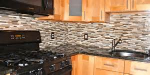 Glass Tile Kitchen Backsplash Mosaic Glass Marble Backsplash New Jersey Custom Tile
