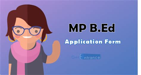 Mba Syllabus Mp Higher Education by Mp B Ed 2017 Application Form How To Apply Getentrance