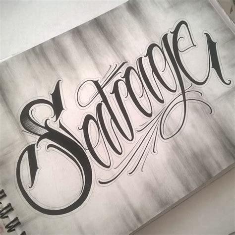 savage tattoos savage scripttattoo scriptkilla script