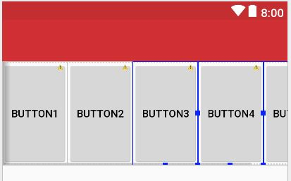 java layout fill width java android horizontal scrollview with horizontal