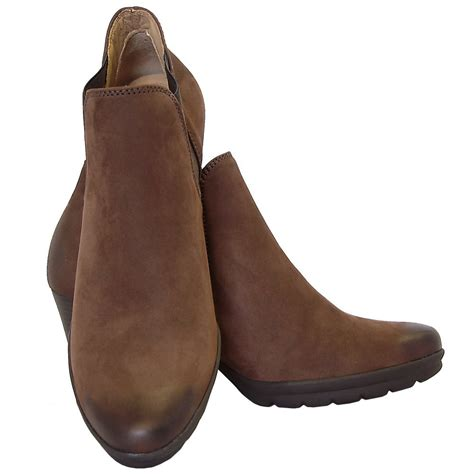 gabor boots arcadia womens high heel boots in brown mozimo