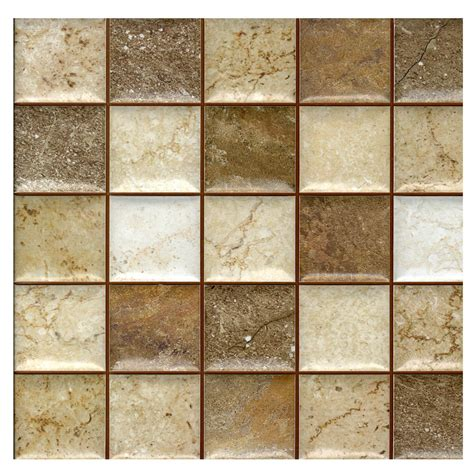 wallpaper for wall tiles java mix mosaic effect 31 6 x 31 6 cm