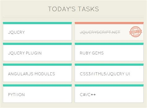 html layout manager jquery stylish card style to do list plugin for jquery listrr