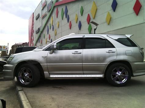 pictures of toyota harrier 2001 toyota harrier pictures information and specs