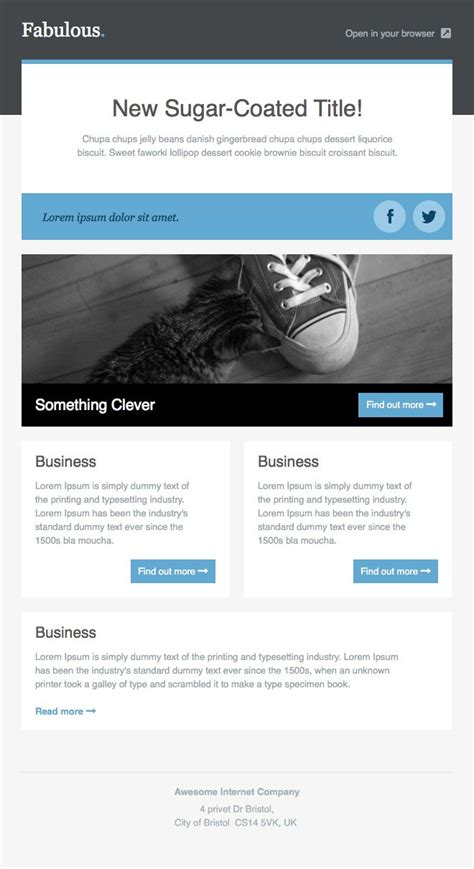 Newsletter Templates Free Email Templates Cakemail Com Email Newsletter Templates