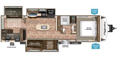 design your own travel trailer floor plan 2017 grand design reflection travel trailer 312bhts