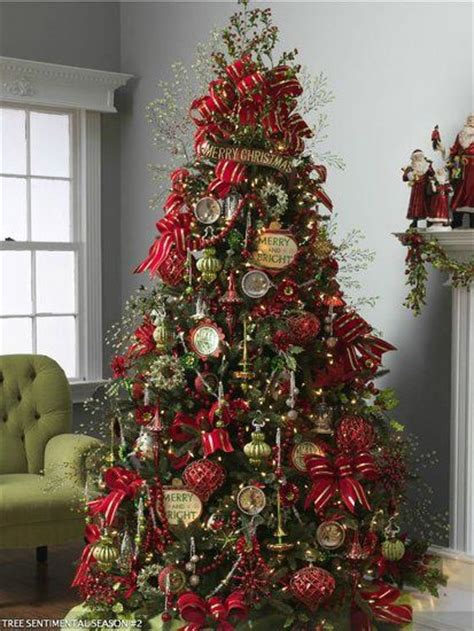 100 s of different christmas tree decorating color schemes
