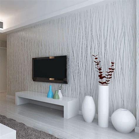 grey wallpaper house aliexpress com buy non woven fashion thin flocking