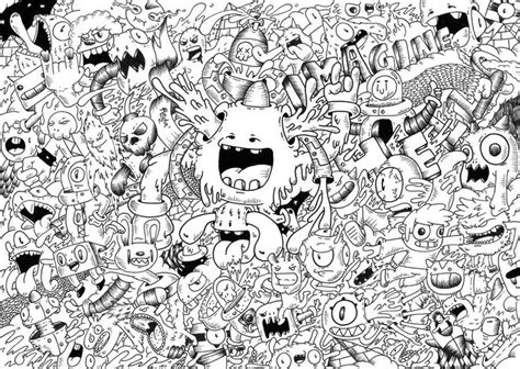 doodle imagine draw book 94 best images about doodle monsters on