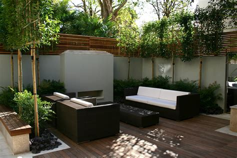 terrasse design contemporary outdoor space designed by kate gould of kate