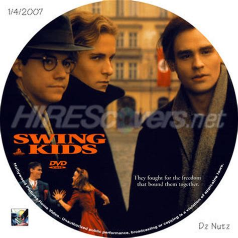 swing kids discography dvd cover custom dvd covers bluray label movie art dvd