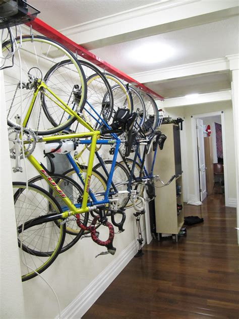 Apartment Bike Storage Mtbr Bike Rack For Apartment Solution To Hang Your