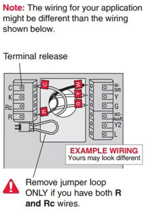 honeywell rth9580wf wiring diagram installing honeywell