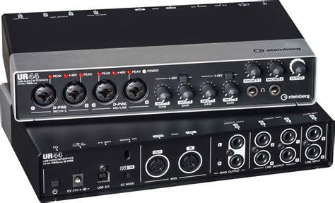ingresso spdif steinberg ur44 usb audio midi interface mes