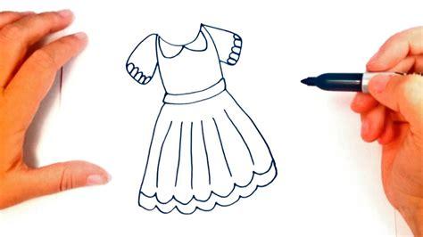 como dibujar vestidos fotos como dibujar un vestido paso a paso dibujo f 225 cil de un