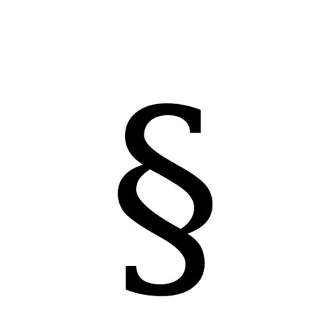 symbol for section image gallery section sign