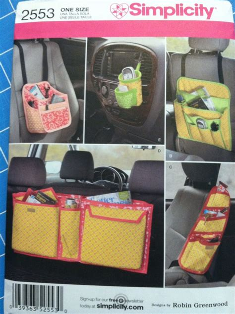 car seat cover pattern simplicity 58 best diy car accessories images on