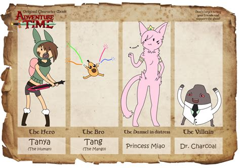 Adventure Time Original Character Meme - adventure time oc meme by kurai lombax on deviantart