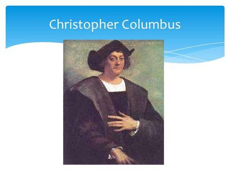 christopher columbus biography deutsch explorers ppt