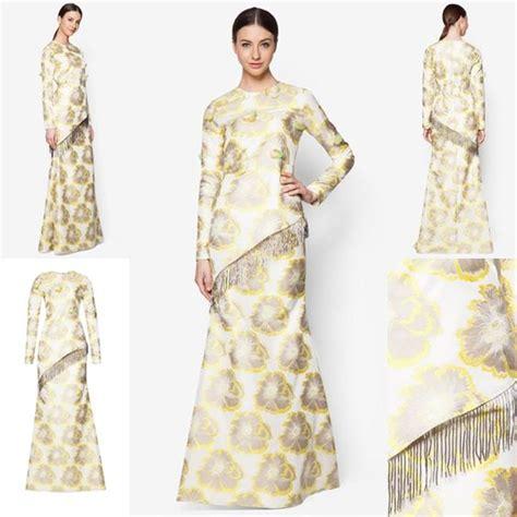 design baju raya 2017 fesyen trend terkini bianco mimosa auratius baju kurung