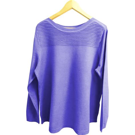 boat neck piping ladies boat neck knit with piping detail